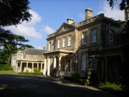 Upton House on a summer's evening