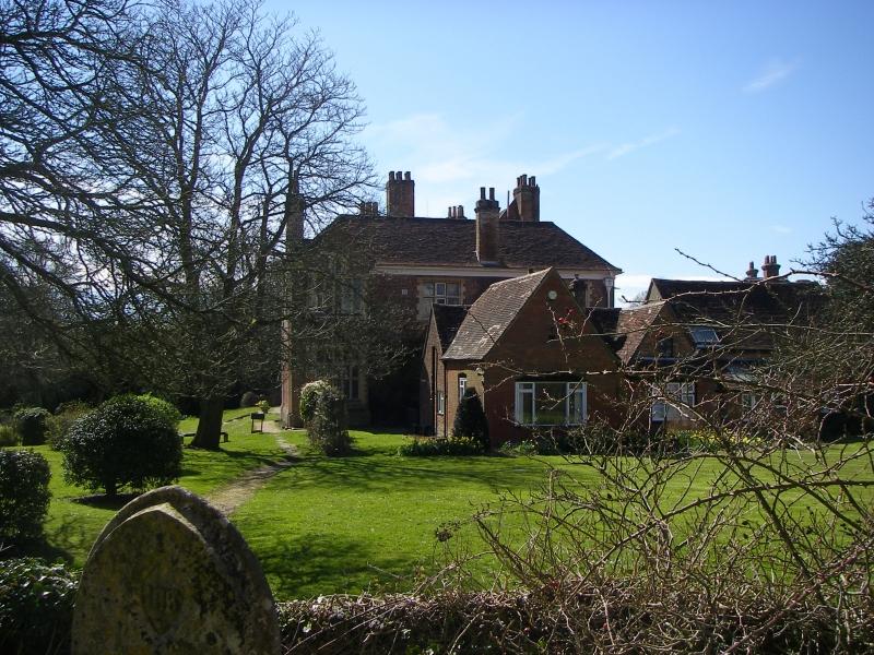 Verderers Court & Lyndhurst Parish Church - April 2016